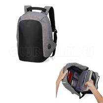 Mochila Anti-Furto USB - M1306